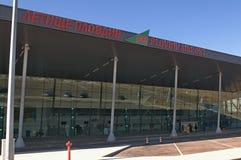 Aéroport Plovdiv - nouveau terminal Photos libres de droits