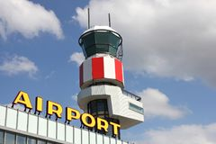 Aéroport régional Photo stock