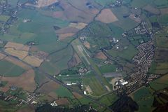 Aéroport régional Image libre de droits