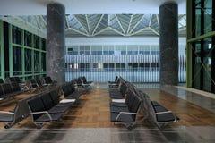Aéroport, salle d'attente Image stock