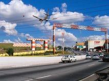Aéroport Sao Paulo de Congonhas Image stock