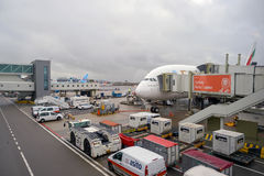 Aéroport Schiphol d'Amsterdam Images stock