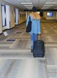 Aéroport, se déplaçant Photo stock