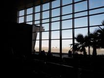 aéroport Sharm-el-Sheikh 8 juillet 2014 Photo libre de droits