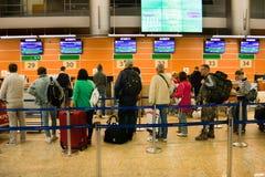 Aéroport Sheremetievo Terminal D Russie moscou Terminal D Mai, 04, 2016 Photographie stock