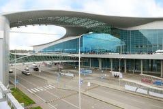 Aéroport sheremetyevo (Moscou) Photos libres de droits