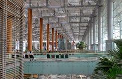 Aéroport Singapour de Changi Photographie stock libre de droits