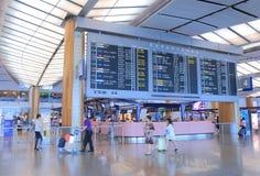 Aéroport Singapour de Changi Photo libre de droits