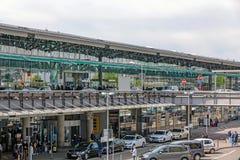 Aéroport Stuttgart, Allemagne - terminal Images libres de droits