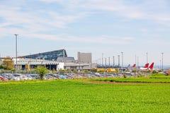 Aéroport Stuttgart, Allemagne - terminal Photographie stock