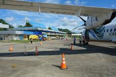Aéroport Surigao Image libre de droits