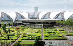 Aéroport Suvarnabhumi Image libre de droits