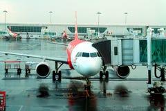 Aéroport terminal Image libre de droits