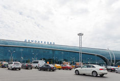 Aéroport terminal de Domodedovo, région de Moscou Photo stock
