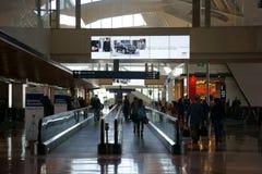 Aéroport terminal LAX de départ Photographie stock