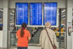 Aéroport Thaïlande de Don Mueang Image libre de droits