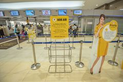 Aéroport Thaïlande de Don Mueang Photos libres de droits