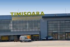 Aéroport Timisoara - en Roumanie Photo stock
