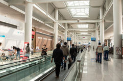Aéroport Travelator de Tokyo Narita Image stock