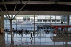 Aéroport Varsovie Chopin Photos libres de droits
