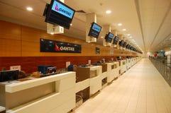 Aéroport vide de cairns photo stock
