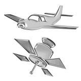 Aérospatial Illustration de Vecteur