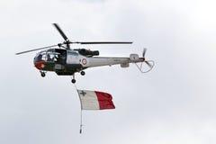 Aérospatiale SA-316B Alouette III AS9212 Images libres de droits