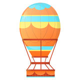 aérostat Air chaud de ballon Photo libre de droits