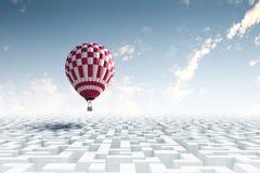 Aérostats en ciel Image libre de droits