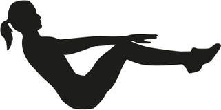 Aërobe gymnastiek Stock Afbeelding