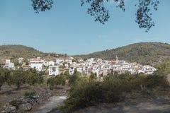 Aín, Castellón, village of the Sierra de Espadán, Spain. Aín, town of the province of Castellón in the Valencian Community, Spain Stock Photos
