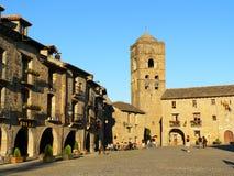 Aínsa, Huesca (Espagne) Photos stock