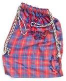 Aísla el bolso de la tela atado Imagen de archivo libre de regalías