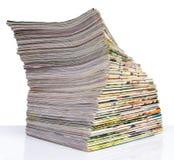 Aísla el diario de la espina dorsal Fotografía de archivo libre de regalías