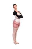 Aíslan al bailarín de ballet en tracksuit Imagen de archivo libre de regalías