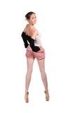 Aíslan al bailarín de ballet en tracksuit Fotos de archivo libres de regalías