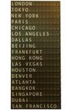 Aíslan al tablero de madera con el país en el fondo blanco Fotografía de archivo libre de regalías