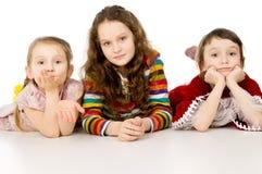 Aíslan a los niños jovenes Fotos de archivo libres de regalías