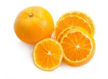 Aísle la naranja Fotografía de archivo