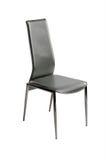 Aísle las sillas negras modernas Fotografía de archivo libre de regalías