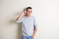 Aîné asiatique Photographie stock libre de droits