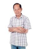 aîné asiatique d'homme Images libres de droits