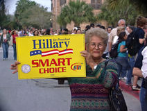 Aîné dans l'élection Image libre de droits