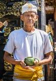 Aîné de Balinese images stock