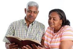 aîné de couples Image libre de droits