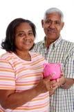 aîné de couples Image stock