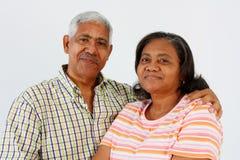 aîné de couples Photographie stock libre de droits