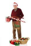 Aîné de Noël photo libre de droits