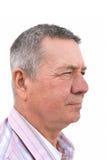 aîné de profil de verticale d'homme Image stock
