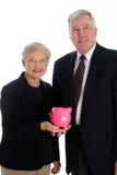 aîné de retraite de couples Images libres de droits